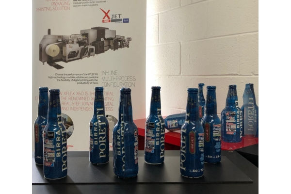 OMET XJet: the only hybrid machine able to print shrink labels