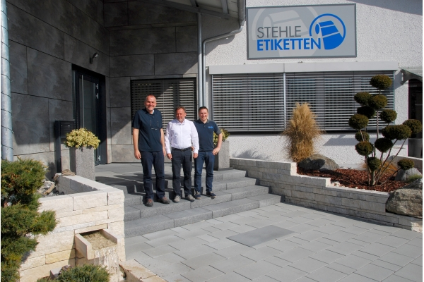 Stehle Etiketten: many years of company development accompanied as a supply partner