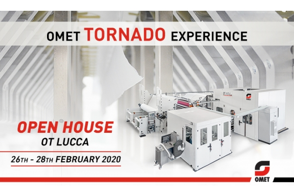 OMET Tornado Experience: Open House in Lucca (Italy) on February 26-28