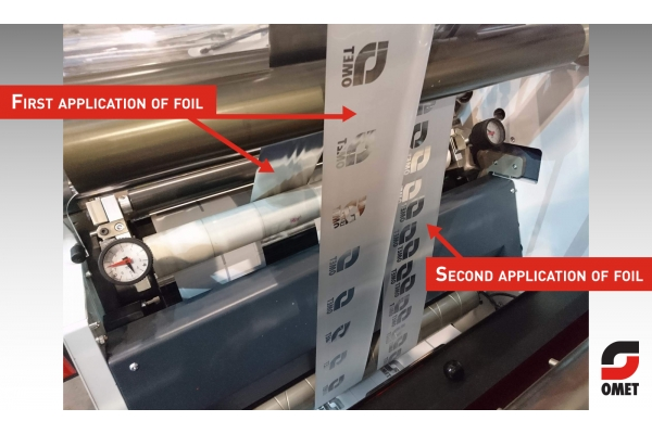 Increase profitability with the new OMET Cold Foil Saver