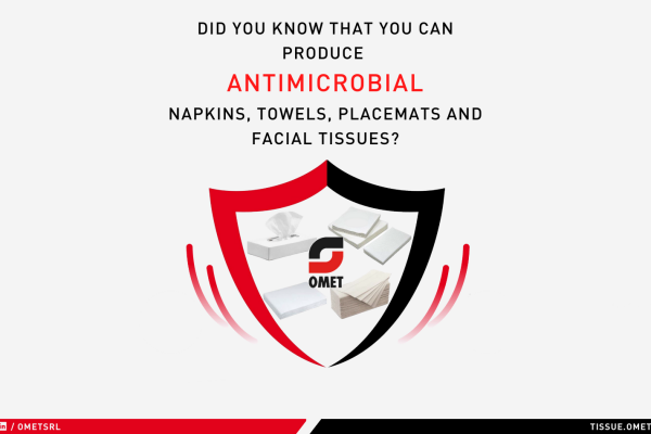OMET presents another innovation: antimicrobial napkins are arriving!