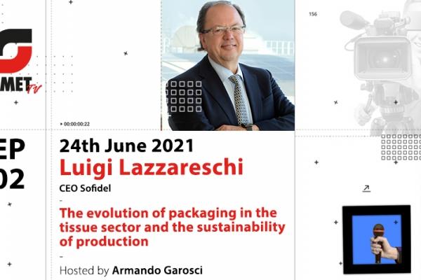 OMET TV, the second episode is about tissue: Luigi Lazzareschi guest