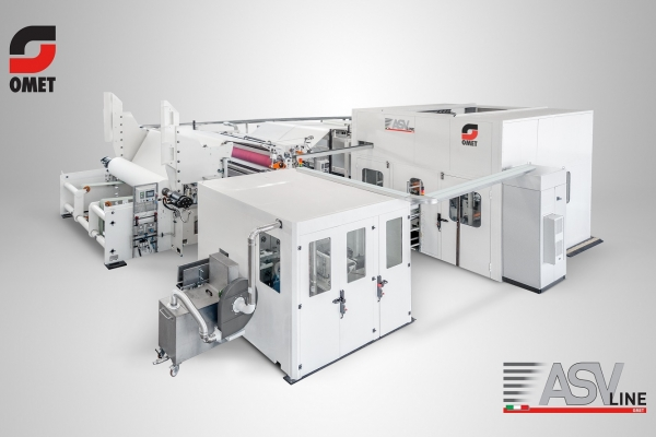 OMET, world leader in machines for folded products