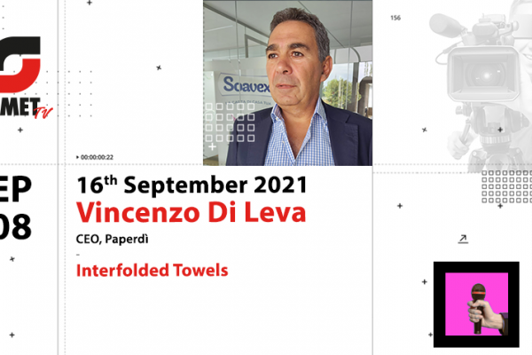 OMET TV: focus on interfolded towels with Vincenzo Di Leva